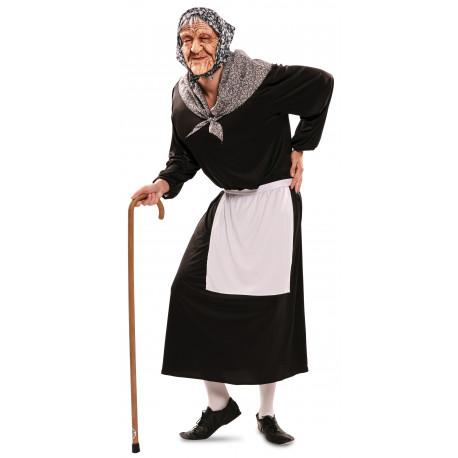 Disfraz de Vieja Cotilla para Adulto