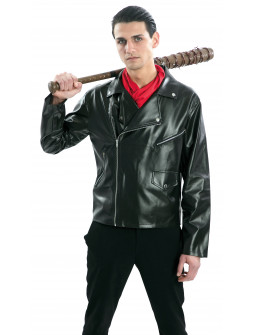 Chaqueta de Negan The Walking Dead de Polipiel