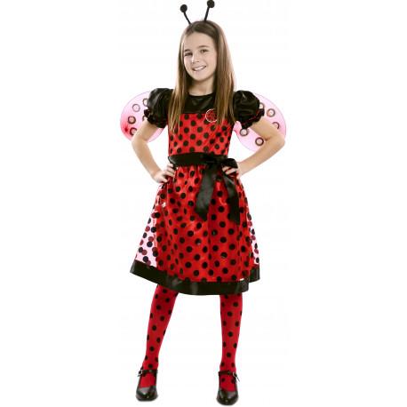 Disfraz de Mariquita Divertida para Niña