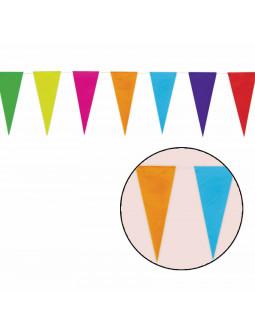 Guirnalda de Banderines de Colores de Papel