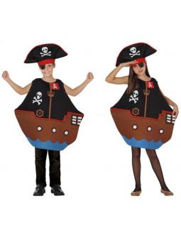 Disfraz de Barco de Pirata Infantil