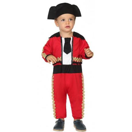 Disfraz de Torero Rojo para Bebé