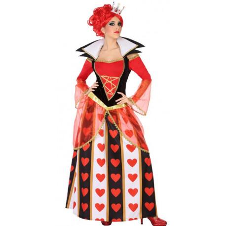Disfraz de Reina de Corazones para Adulto