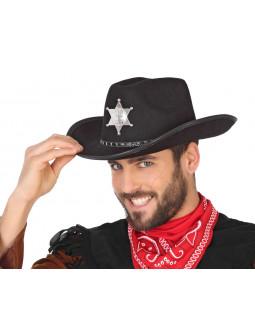 Sombrero Negro de Sheriff