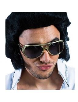 Gafas de Elvis Doradas