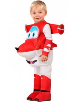 Disfraz de Avión Jett Super Wings Infantil