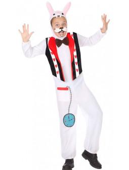 Disfraz de Conejo Blanco de Alicia Infantil