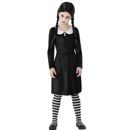 Disfraz de Miércoles Addams Infantil
