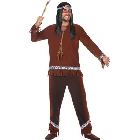 Disfraz de Indio Nativo Americano para Hombre