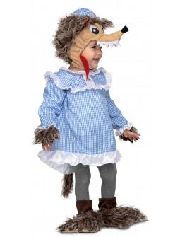 Disfraz de Lobo de Caperucita para Bebé