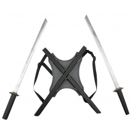 Espadas Ninja con Fundas para la Espalda