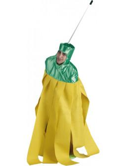Disfraz de Fregona Amarilla para Adulto
