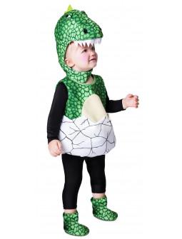 Disfraz de Dinosaurio en Huevo para Bebé