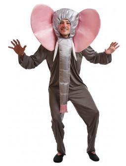 Disfraz de Elefante con Trompa para Adulto