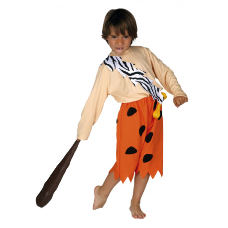 Disfraz de Bam Bam Mármol para Niño
