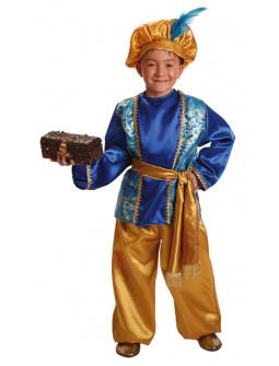 Disfraz de Paje Real Azul Infantil