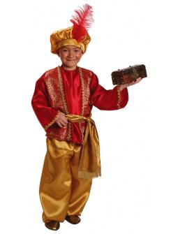 Disfraz de Paje Real Rojo Infantil