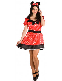 Disfraz de Ratoncita Minnie para Mujer