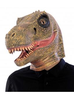 Máscara de Velociraptor con Mandíbula Móvil
