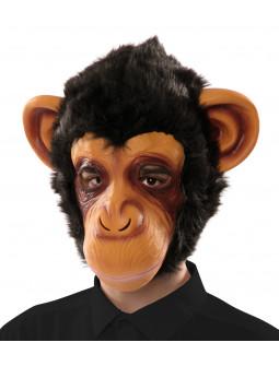 Máscara de Mono de Látex con Pelo
