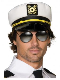 Gorra de Capitán de Barco para Adulto