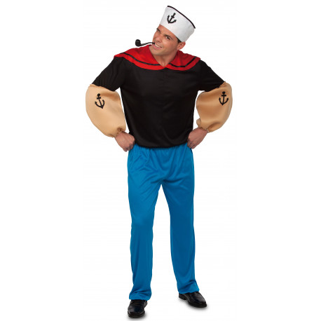 Disfraz de Popeye el Marino para Adulto
