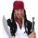 Peluca con pañuelo, Caribbean pirate