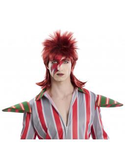 Peluca de David Bowie Pelirroja