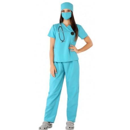 Disfraz de Médica Cirujana para Mujer