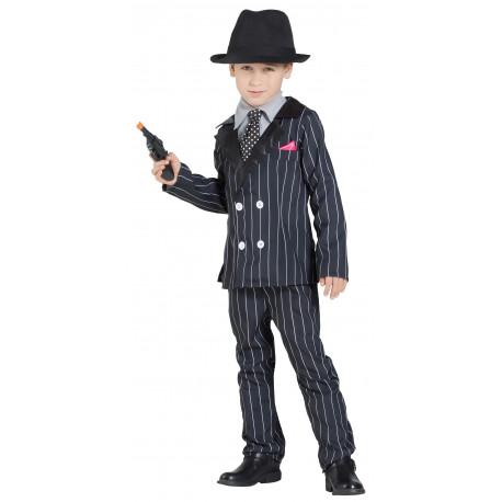 Disfraz de Gánster Al Capone para Niño