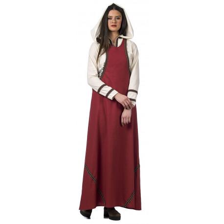Disfraz de Dama Medieval con Capucha para Mujer