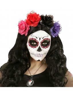 Gemas Adhesivas Rosas y Rojas para Maquillaje