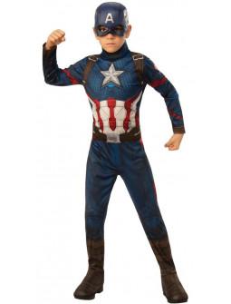 Disfraz de Capitán América Infantil