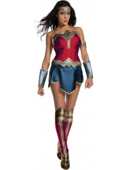 Disfraz de Wonder Woman Premium para Mujer