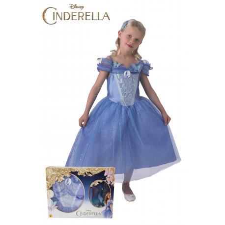 Disfraz de Cenicienta de Disney para Niña en Caja