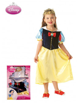 Disfraz de Blancanieves de Disney para Niña en Caja