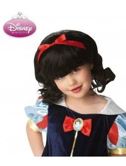 Peluca de Blancanieves Princesa Disney Infantil
