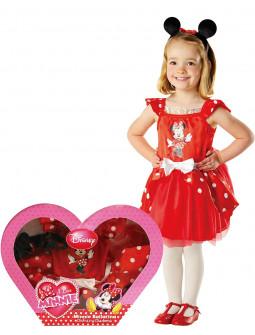 Disfraz de Minnie Mouse para Niña en Caja