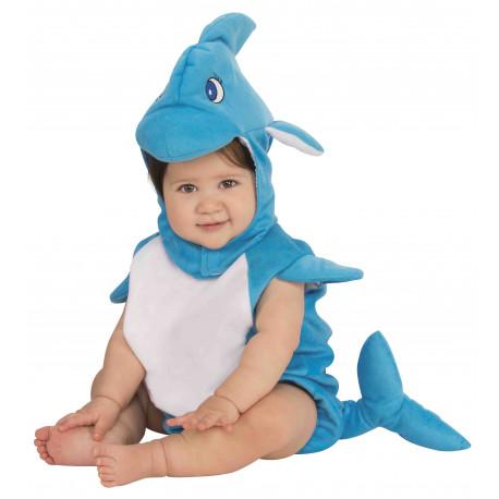 Disfraz de Delfín para Bebé
