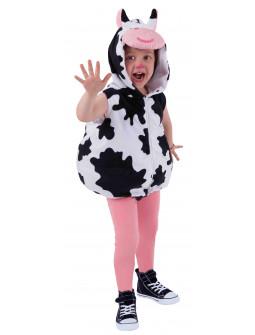 Disfraz de Vaca con Capucha para Bebé