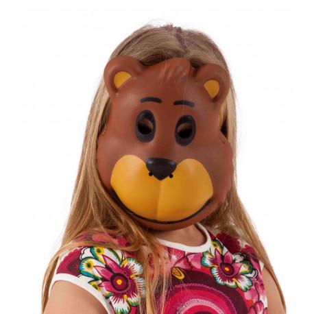 Máscara de Oso Marrón Infantil