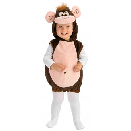 Disfraz de Mono de la Jungla para Bebé