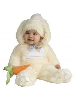 Disfraz de Conejo de Peluche con Zanahoria para Bebé