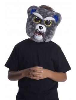 Máscara de Oso Gris Enfadado Feisty Pets