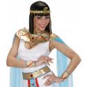 Brazalete de Egipcia Dorado de Serpiente