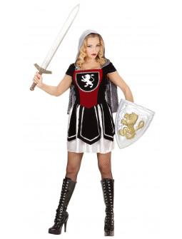 Disfraz de Caballero Real Medieval para Mujer