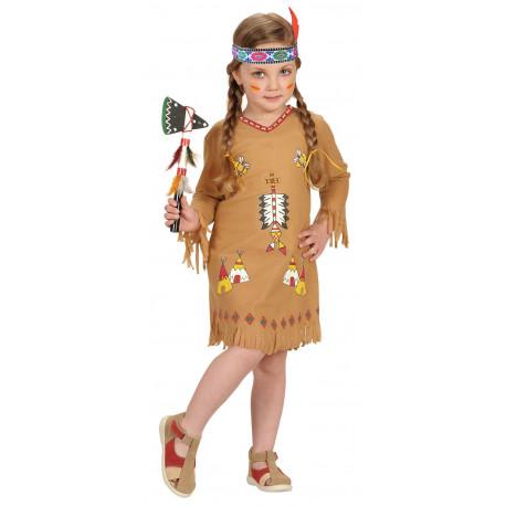 Disfraz de India Divertida para Niña