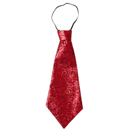 Corbata Roja de lame