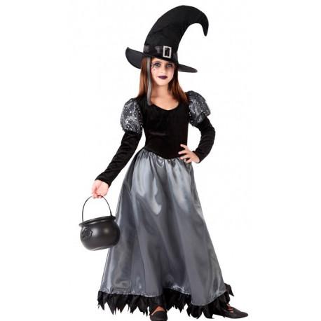 Disfraz de Bruja Oscura para Niña