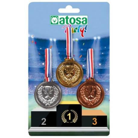 Medallas de los Juegos Olímpicos
